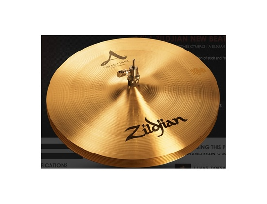 "Zildjian 14"" A New Beat HiHats"