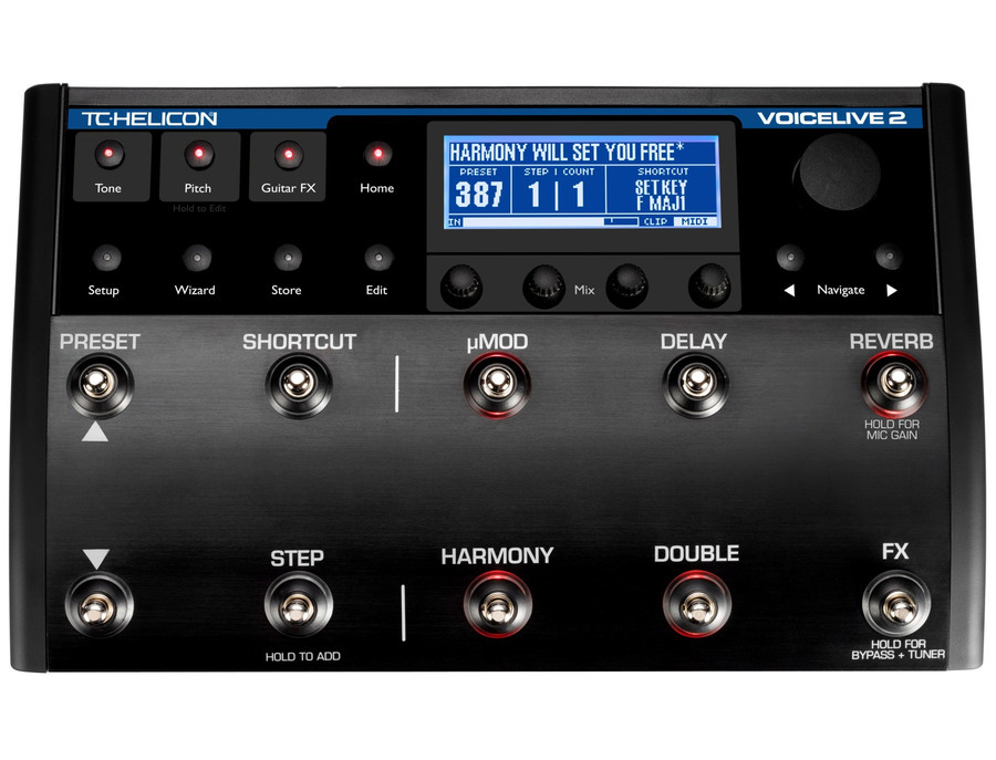 Tc helicon voicelive 2 floor based vocal processor xl