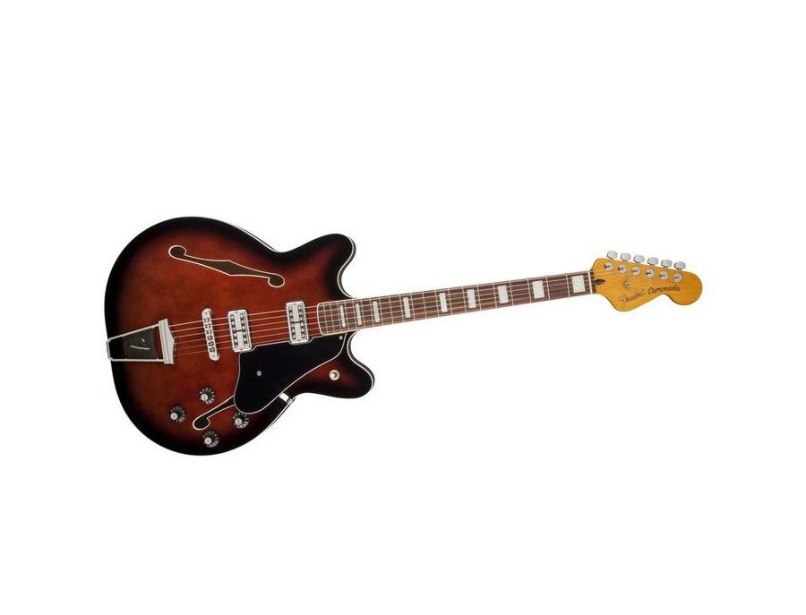 Fender coronado ii semi hollowbody electric guitar xl