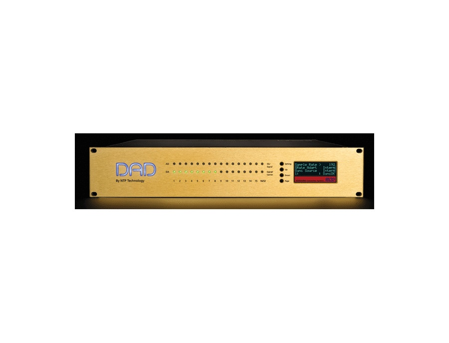 DAD AX32 8 to 48 Channel AD/DA Converter & Digital Router Interface