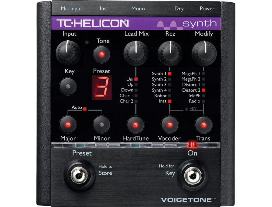 TC-Helicon VoiceTone Synth