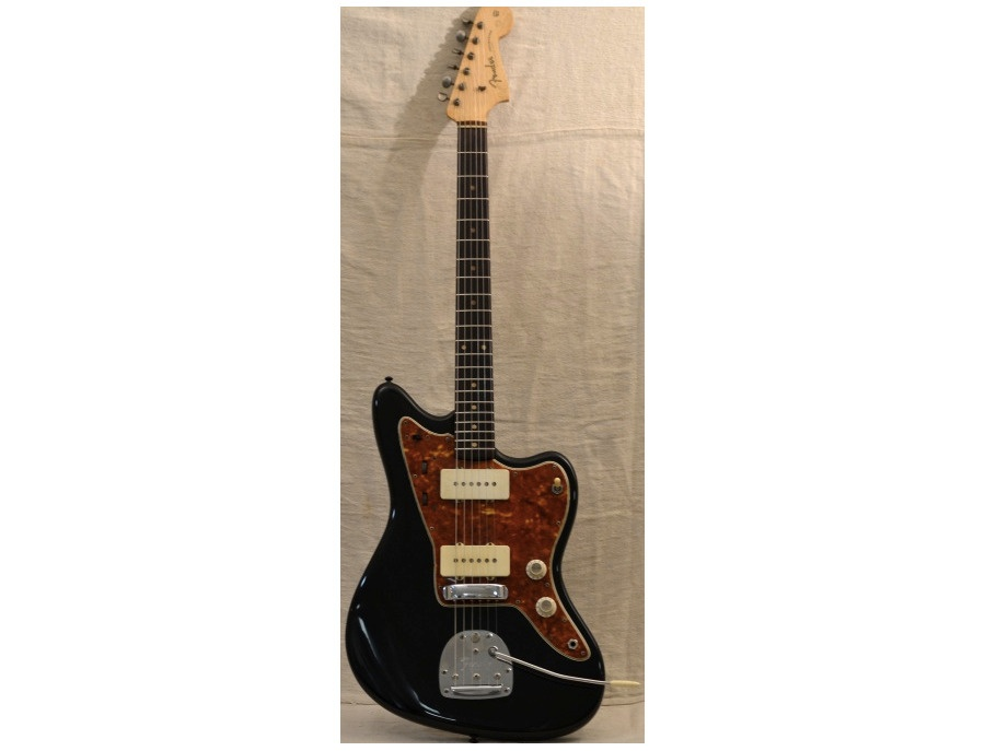 1962 Fender Jazzmaster - Black Body Tortoise Guard