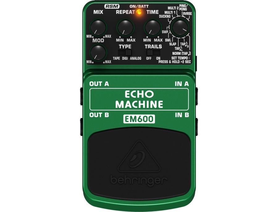 Behringer EM600 Echo Machine