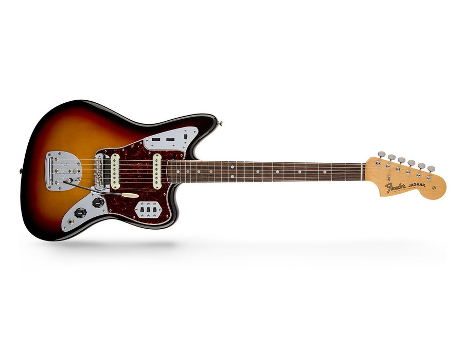 Fender jaguar sunburst xl