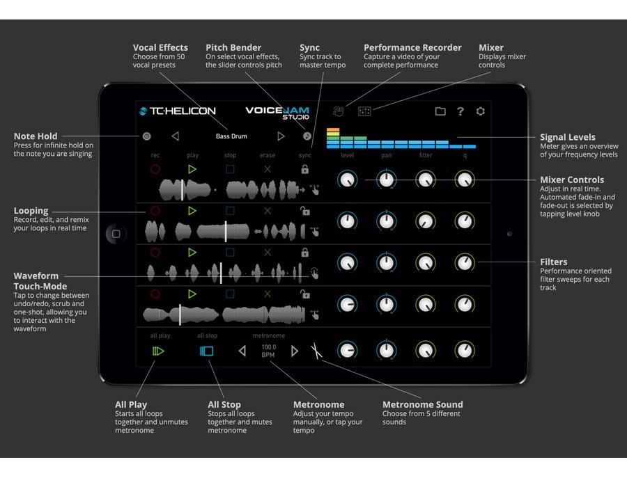 Voice Jam Studio