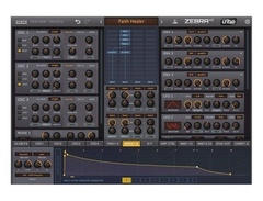 U he zebrahz software synthesizer s