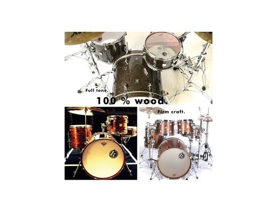 Kirchhoff Artist Bubinga Handcraftet Drums