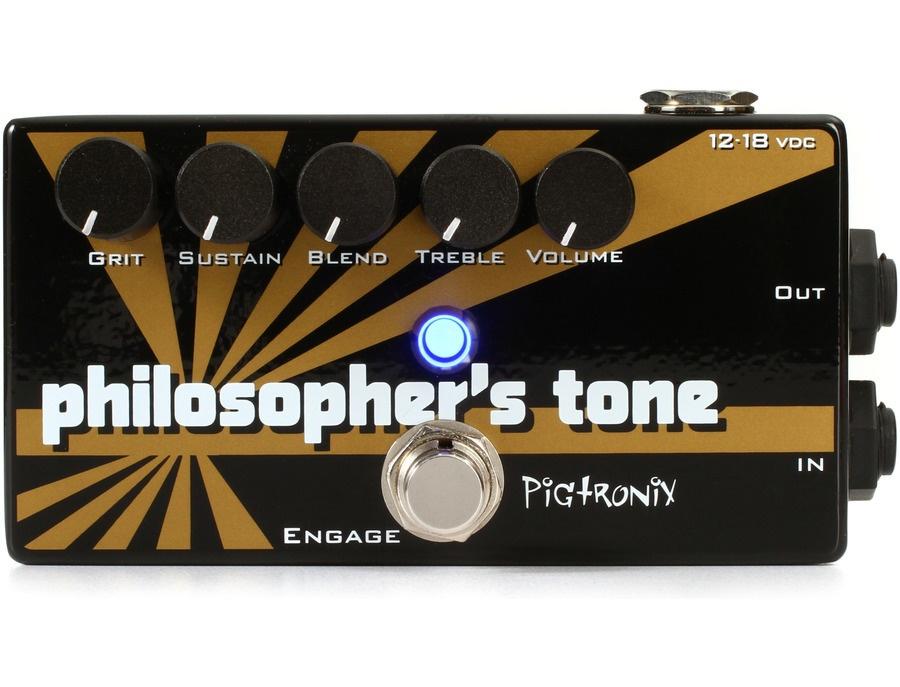 Pigtronix philosopher s tone compressor pedal xl