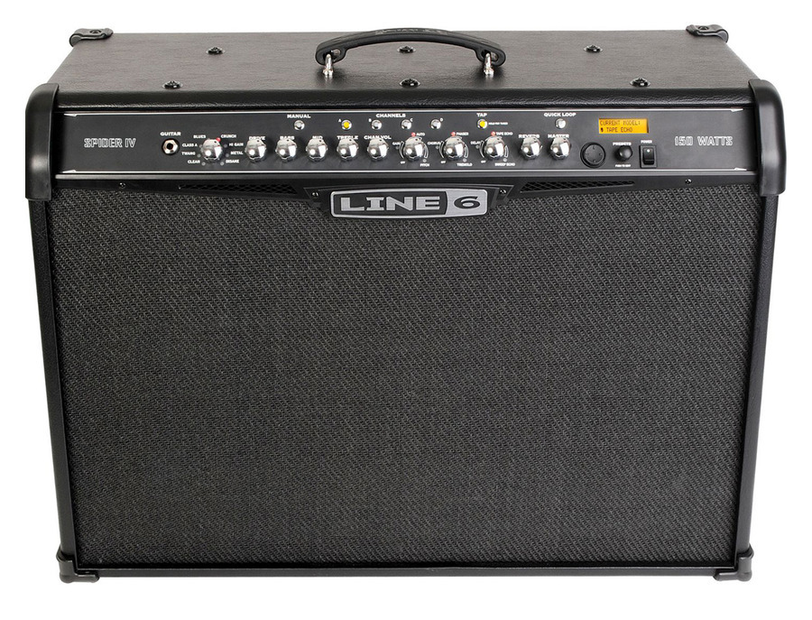 Line 6 Spider IV 150-Watt Guitar Combo Amp
