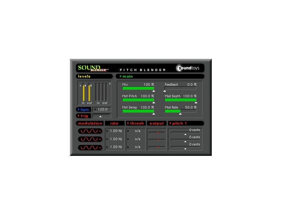Soundtoys soundblender plugin xl