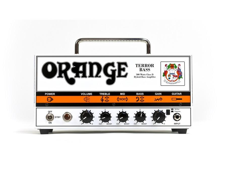 Orange Terror Bass 500 Head