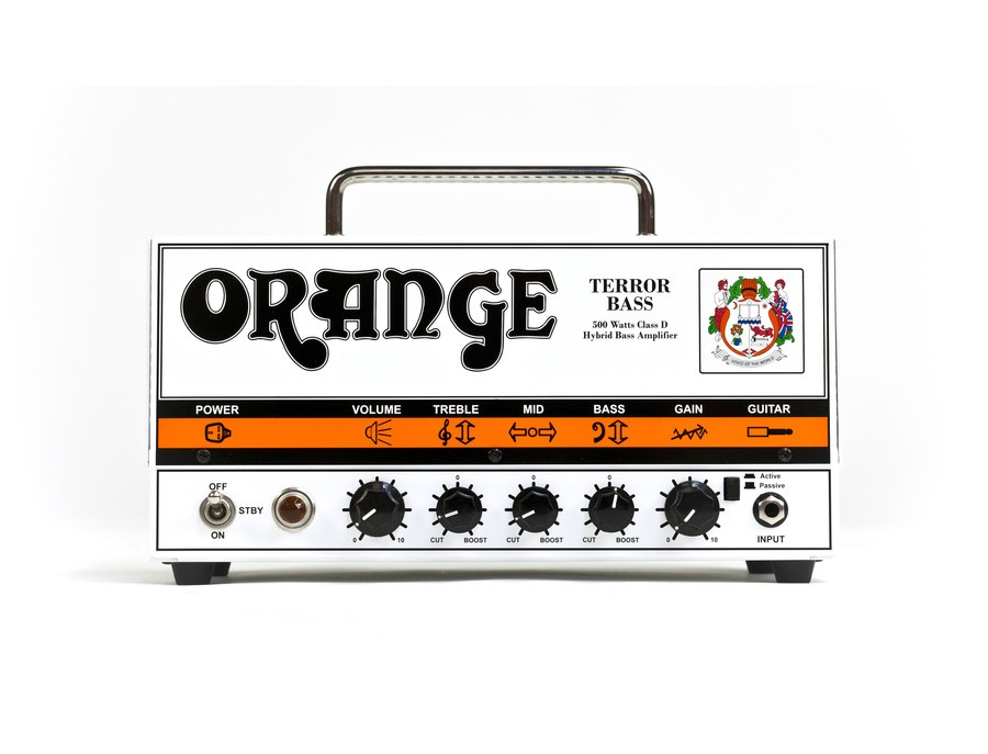 Orange Terror Bass 500 Head