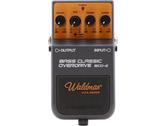Waldman BCO-2 Bass Classic Overdrive