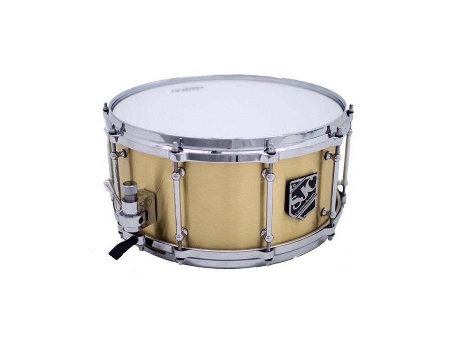 Sjc custom 3mm brass snare xl