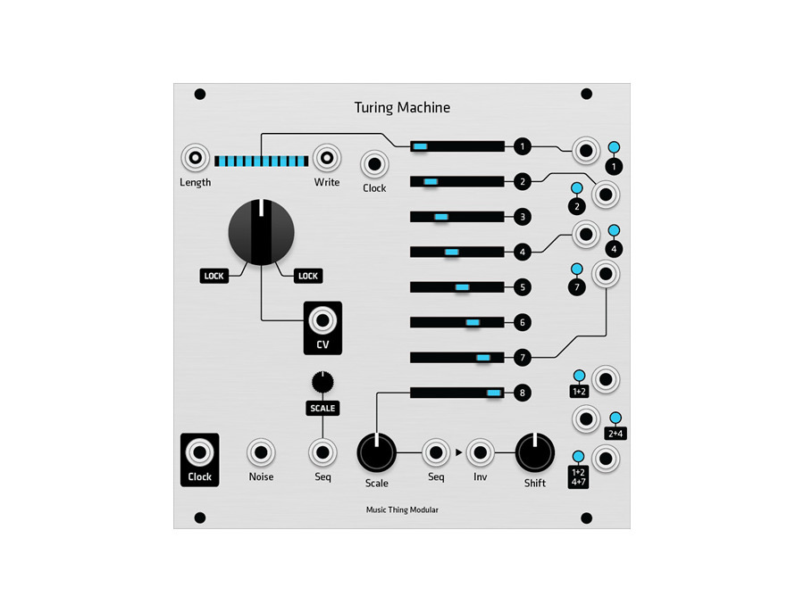 Music Thing Modular Turing Machine