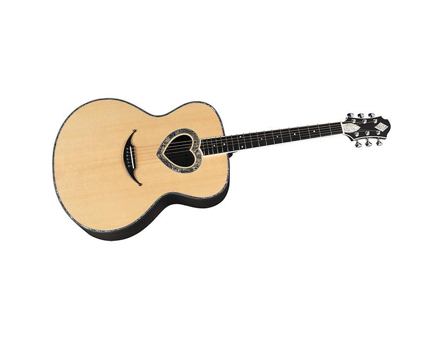 Zemaitis Heart Hole Acoustic Guitar