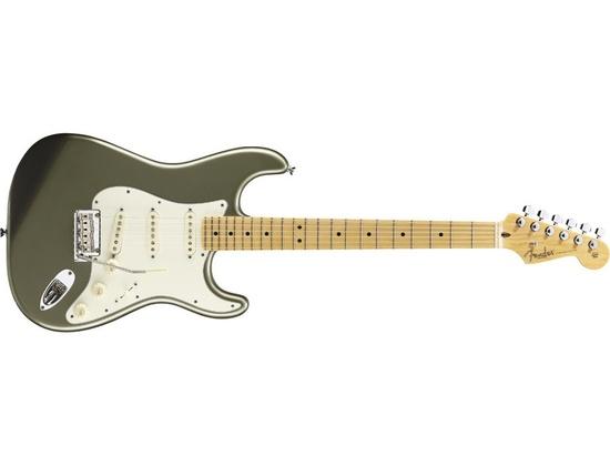 '12 Fender American Standard Stratocaster Jade Pearl Metallic
