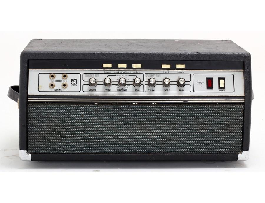 Ampeg SVT Vintage Amplifier Reviews & Prices | Equipboard®