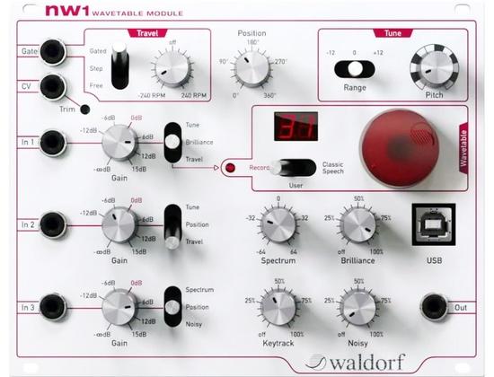 Waldorf NW1 Wavetable Module