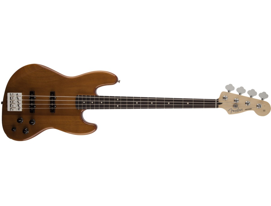 Fender Deluxe Active Jazz Bass Okoume