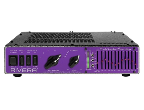 Rivera RockCrusher Recording Power Attenuator/Load Box/ Speaker Emulator
