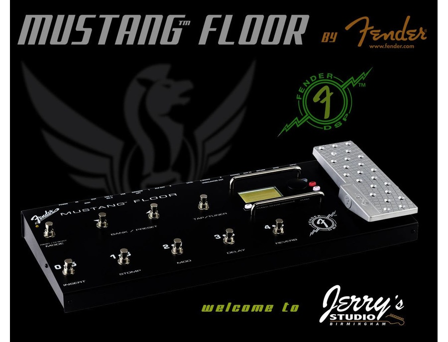 Fender Mustang Floor with gigbag