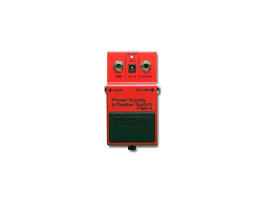BOSS PSM-5 Power supply & master switch