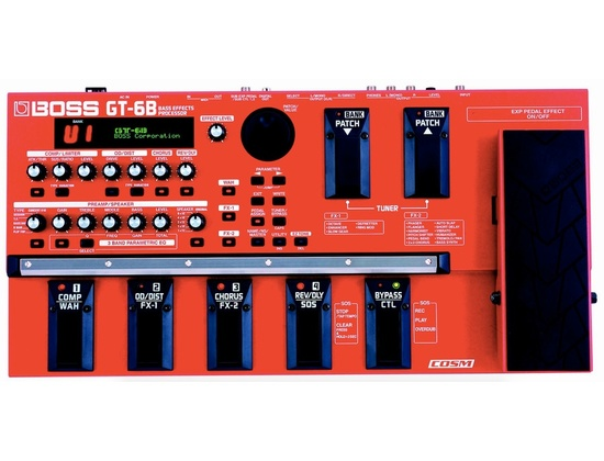 boss gt 6b bass effects processor reviews prices. Black Bedroom Furniture Sets. Home Design Ideas