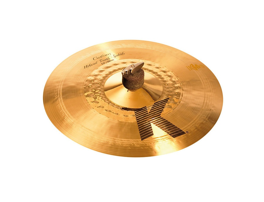 "Zildjian 13""K Custom Hybrid Trash Splash"