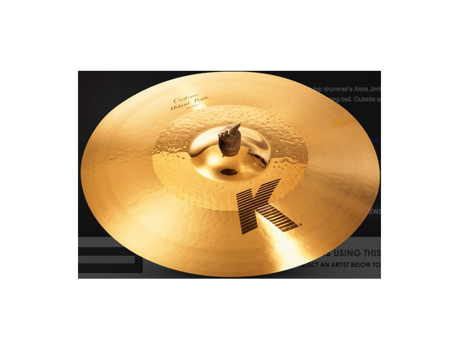 "Zildjian 21""K Custom Hybrid Ride"