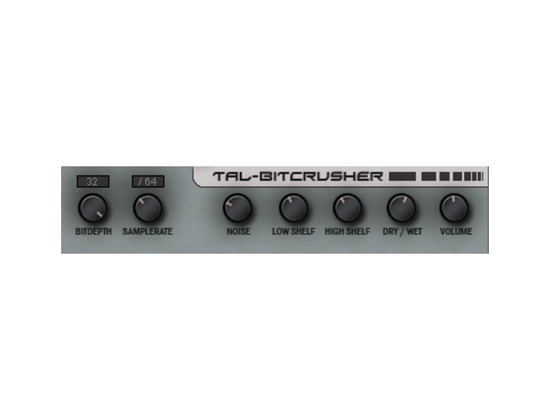 TAL-Togu Audio Line TAL-Bitcrusher