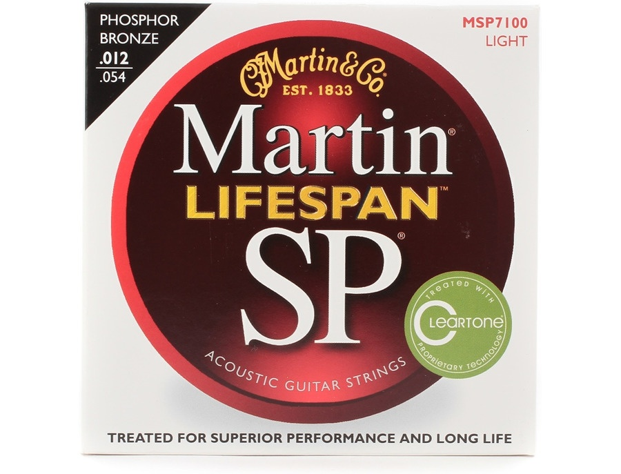 Martin SP Lifespan 92/8 Phosphor Bronze Light - MSP7100