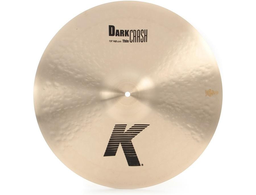 "Zildjian 19"" K Dark Thin Crash"