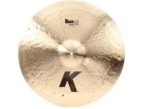 "Zildjian 22"" K Dark Medium Ride"
