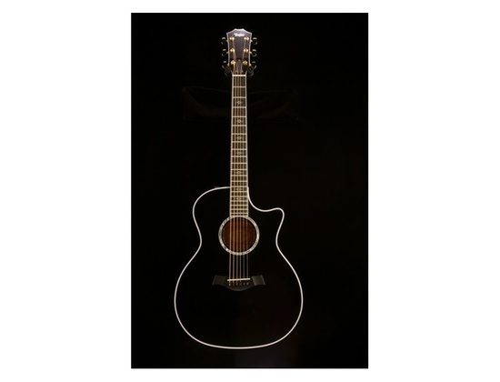 taylor 614ce black acoustic electric guitar reviews prices equipboard. Black Bedroom Furniture Sets. Home Design Ideas