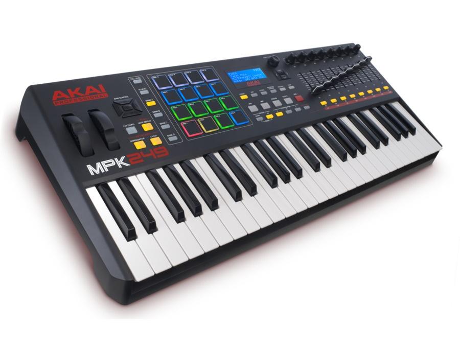 Akai mpk249 usb midi keyboard xl