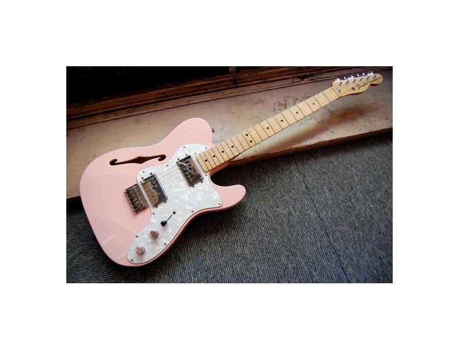 Fender 1972 Thinline Telecaster Pink