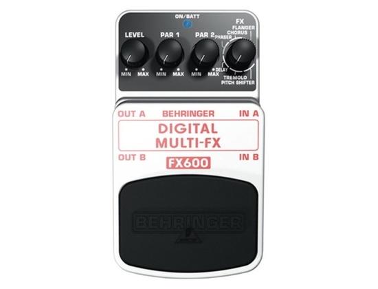 Behringer FX600 Digital Multi-Effect Pedal