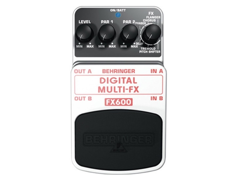 Behringer FX600 Digital Multi-Effect Pedal