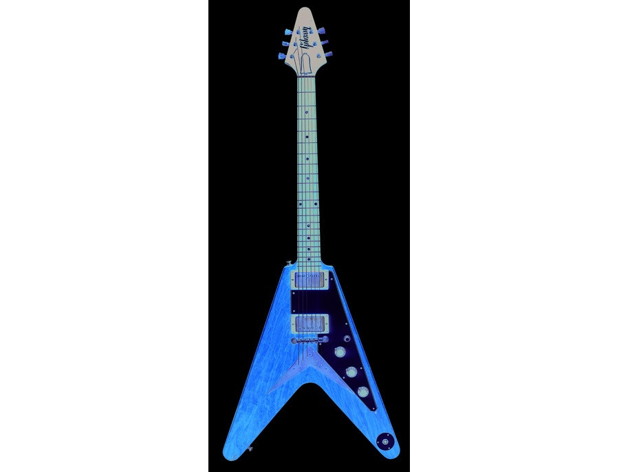 1950s Gibson's Flying V Electric Guitar