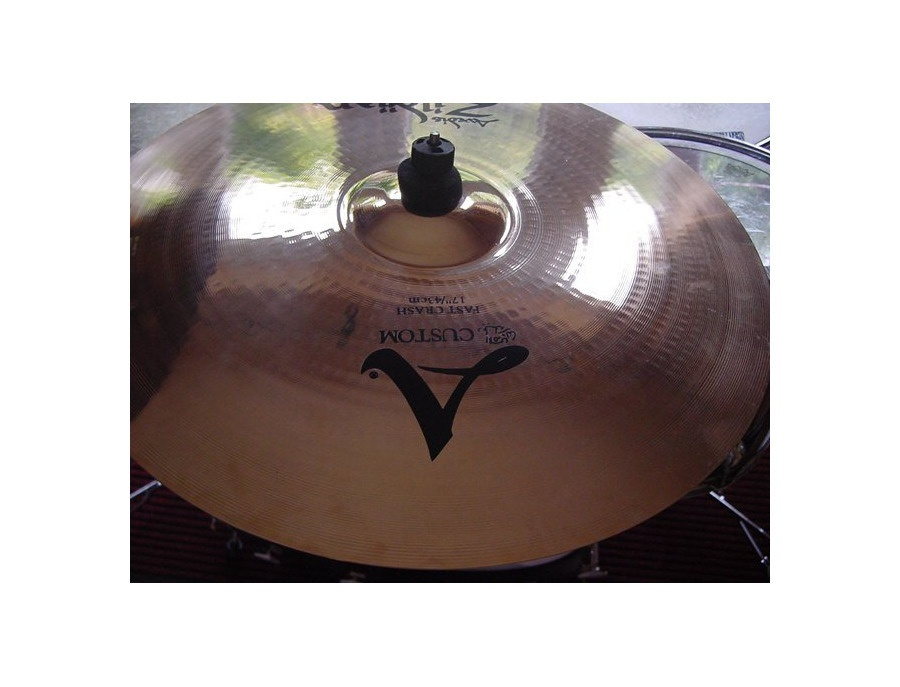 "17"" zildjian thin crash custom"