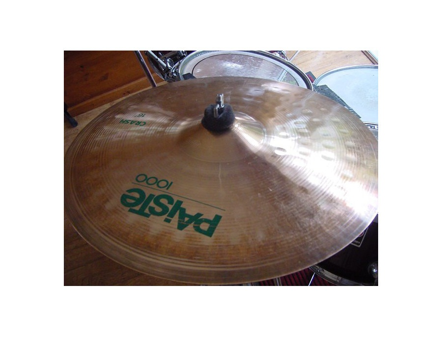 "Paiste 16"" 1000 bronze crash"