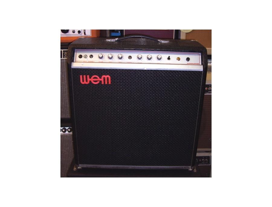 WEM Dominator All Purpose 25 Watt Guitar Amplifier
