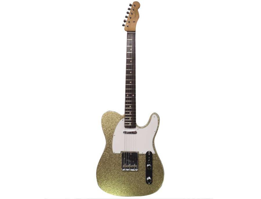 1996 Fender Custom Shop Gold Sparkle Telecaster