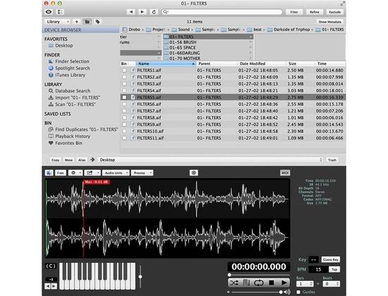 Iced Audio AudioFinder