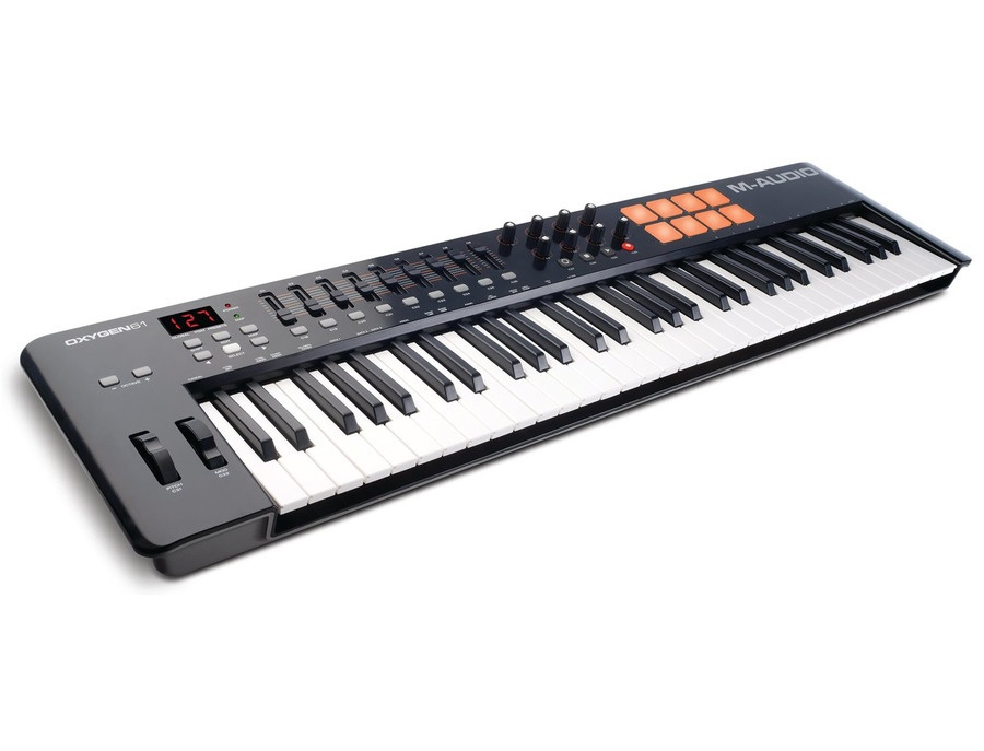 m audio oxygen 61 61 key usb midi controller mkiv reviews prices equipboard. Black Bedroom Furniture Sets. Home Design Ideas