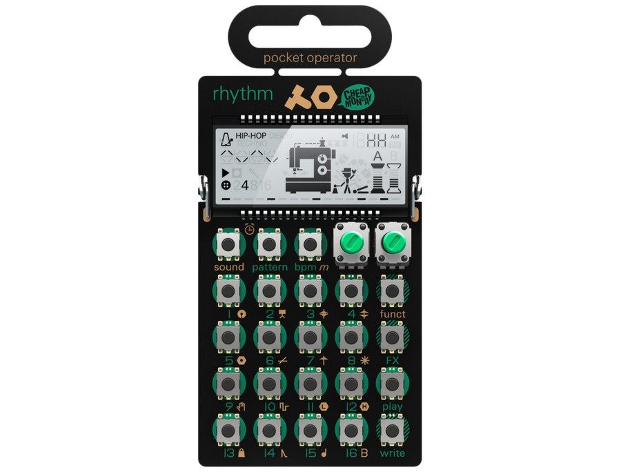 Teenage engineering pocket operator po 12 rhythm xl