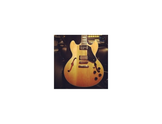 Custom Gibson Midtown with Bare Knuckle Mississippi Queen P90 pickups