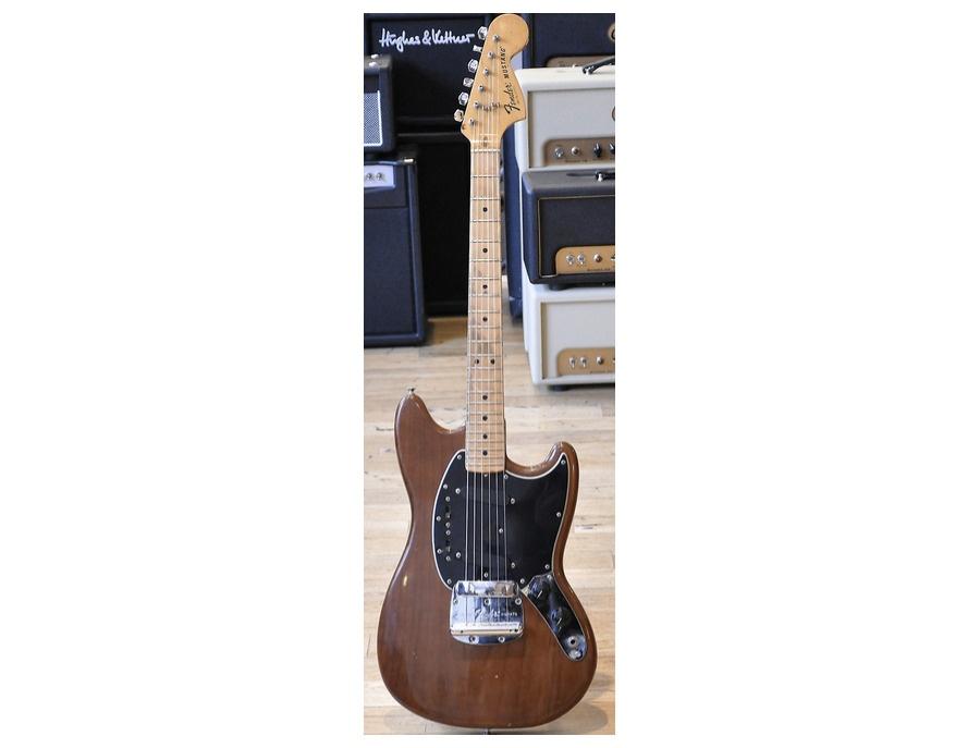 1976 Fender Mustang - Mocha