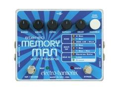 Electro harmonix stereo memory man with hazarai s